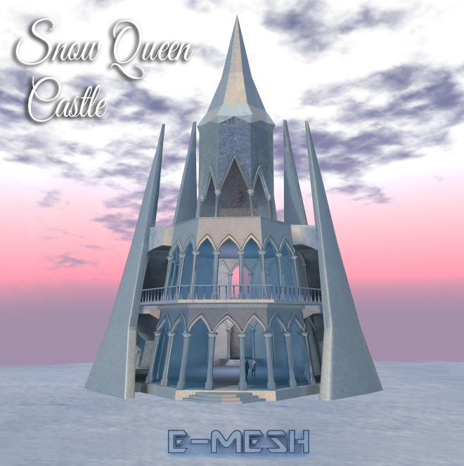 Emesh Snow Queen Castle